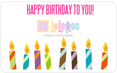 Send Online Gift Cards For LuLaRoe Christine Caplinger